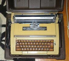 Vintage Smith Corona Typewriter Correction Electric Ii 2 Working With Case Manuals