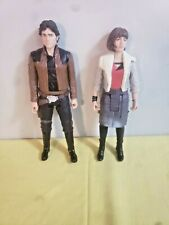 Star Wars The Black Series  Qira (Corellia) & Han Solo Action Figures Only