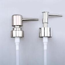 Portable Travel Soap Pump Nozzle Liquid Lotion Dispenser Replace Jar Tube 2 Size
