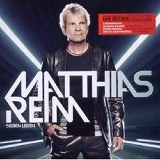 """MATTHIAS REIM """"SIEBEN LEBEN (FAN EDT-NEUAUFLAGE)""""CD NEU"""