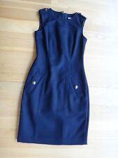 BURBERRY BRIT Sheath Dress - Navy Blue - Size 4 US