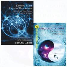 Ursula K.Le Guin Collection Dreams Must Explain Themselves 2 Books Set BRAND NEW