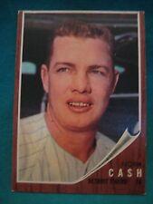 1962 Topps #250-Norm Cash-Detroit Tigers