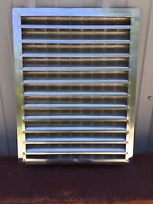 "CASE OF 2 Air Vent 81139 Aluminum Wall End Louver 18"" X 24""  FREE SHIPPING"
