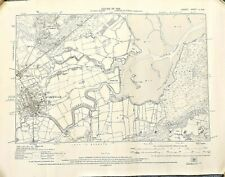 1929 Edition - 6 inches to mile map of Wareham and Wareham Channel