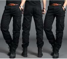 Men's Army Cargo Overall Military Combat Tactical Casual Outdoor Pants Trousers