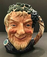 Royal Doulton 'Bacchus' D6499 1958 Large Toby Character Jug - God Of Wine
