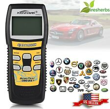 Auto Code Reader Scanner Diagnostic Tool Readiness Automotive Scan LCD Display