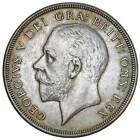 UK Great Britain GEORGE V 4th Issue Silver Wreath Crown 1931 S.4036 NGC AU58