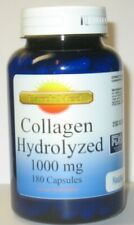 Collagen Hydrolyzed 1000 mg 180 Capsules Skin Nails and Hair Health