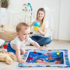Baby Wasser Wasserkissen Spielmatte Aufblasbare Spielzeug 60x50cm Blau