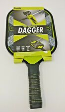 FRANKLIN GRAPHITE DAGGER PICKLE BALL PADDLE  Superior Bounce Foam Handle