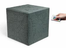 Star Trek TNG The Next Generation Giant Borg Cube Mood Lamp + NASA FLOWN DECAL!!
