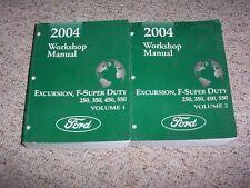 2004 Ford F250 F350 F450 F550 Service Repair Manual 6.0L Diesel XL XLT Lariat