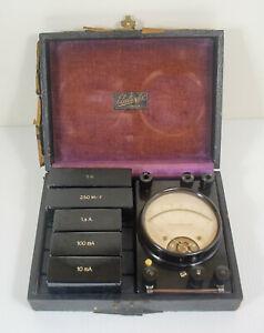 Vintage Volt and Amp meter