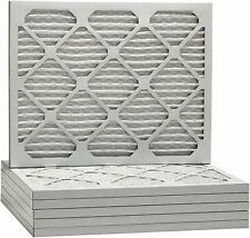 20x20x1 Merv 13 Pleated AC Furnace Filters. Case of 6, Helps Capture Viruses