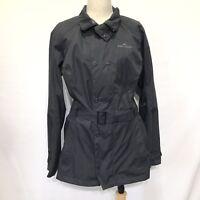 Kathmandu Size 12 Jacket NGX 2.5 Grey Water proof  Wind Proof Rain Coat No Hood