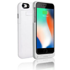Indigi 4000mAh White Slim External PowerBank Battery Case for iPhone 8 Plus