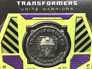 Takaratomy Transformers United Warrior UW-04 Devastator Coin