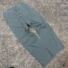 Vintage 90s Grunge Ralph Lauren Polo Army Military Mens Pants Chinos Khakis 32