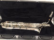 IW 661 Baritone Saxophone Low A - Silver Plated, Fathers Day sale