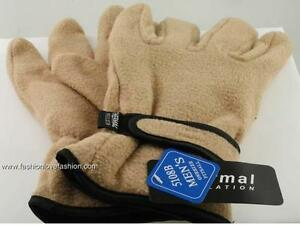 1 Pair Men's Winter Fleece Gloves with Thermal Insulation Work,Driving Gloves