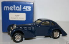 WESTERN MODELS 1/43 PROTOTYPE METAL 43 - 1209 - DELAGE D6 COUPE - BLUE