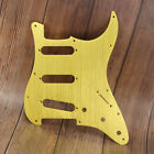 Aluminum Metal Strat SSS Guitar Pickguard Scratch Plate 11 Holes Anodized Gold