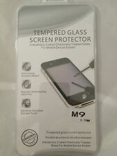 TEMPERED GLASS SCREEN PROTECTOR ANTI SCRATCH FILM For HTC ONE M9 UK SELLER