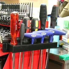 Magnetic screwdriver holder / screwdriver rack