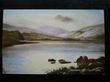 POST CARD SNOWDON FROM CAPEL CURIG