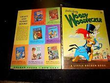 1952F Little Golden WOODY WOODPECKER Walter Lantz Annie North Bedford