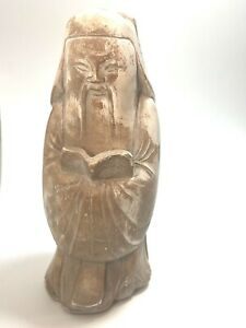 Vintage Austin Productions Sculpture Confucius 1975