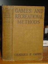 1924 Games & Recreational Methods For Clubs, Camps & Scouts, Fire-Making, Nature