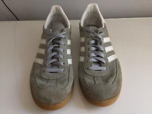 Adidas Spezial Grey Trainers: Size 10