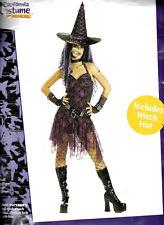 Goth Rockin' Witch Costume - Sexy Women's Halloween - Adult Small Women's Size