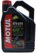 MOTUL Olio lubrificante motor quads ATV-UTV EXPERT 4T 10W40 4 L