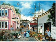 1000 Pieces Jigsaw Puzzles Town Painting Educational Toy For Adults Children