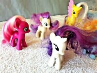 "Vintage  MY LITTLE PONY ~Lot of 5 ~ 2"" Assorted Collectible  gift"