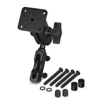 Motorcycle Handlebar Mount for Garmin Zumo 350 390 395 550 595 LM GPS 1096200 BK