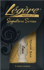 Legere Saxophone Reed Tenor Bb (B - Flat) 2.75 Signature Cut