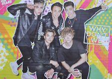 WHY DON´T WE - A2 Poster (XL - 42 x 55 cm) - Clippings Fan Sammlung NEU