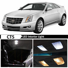 16x White Interior LED Lights Package Kit for 2008-2013 Cadillac CTS + TOOL