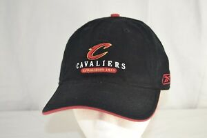Cleveland Cavaliers Black Baseball Cap Adjustable Buckle
