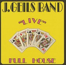 "*NEW* CD Album J. Geils Band - ""Live"" Full House (Mini LP Style card Case)"