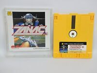 Famicom Disk ZANAC No Instruction Nintendo Japan dk