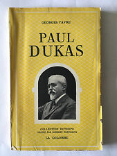 PAUL DUKAS 1948 GEORGES FAVRE COLLECTION EUTERPE