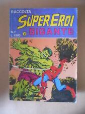 Raccolta SUPEREROI GIGANTE n°7 1984 Edizioni Corno [G487]