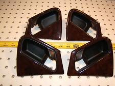 Mercedes Late W163 ML430/ML320 F & R wood door handle L & R 1 set of 4 Surrounds