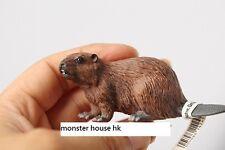 RARE Retired Schleich Beaver 14245 8cm PVC animal figure figurine with tag